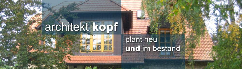 architekt KOPF
